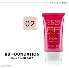 Checkout this latest BB & CC Cream Product Name: * BB Cream* Product Name:  BB Cream Type: Cream Multipack: 1 Country of Origin: India Easy Returns Available In Case Of Any Issue   Catalog Rating: ★4.3 (351)  Catalog Name: Swiss Beauty Proffesional Perfect BB & CC Cream CatalogID_1662948 C173-SC1981 Code: 571-9458031-213