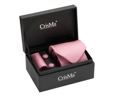 Luxusná kravata a manžetové gombíky ako elegantný pánsky set. Set obsahuje kravatu, manžetové gombíky a vreckovku, ktoré sú zabalené v luxusnej darčekovej krabici. Manžetové gombíky a vreckovka majú hadí vzor.  Luxusná kravata je doplnkom Vašej osobnosti. Bude vám slúžiť pri každodennom nosení alebo pri sviatočnej príležitosti. Dodajte svojmu oblečeniu originalitu a štýl. http://www.luxusne-doplnky.eu