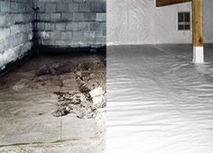 Crawl Space Vapor Barriers   ISI Building Products Crawl Space Vapor Barrier, Crawl Space Repair, Crawl Space Encapsulation, Mobile Home Renovations, Radiant Barrier, Space Projects, Building Products, Basement Walls, Indoor Air Quality