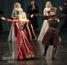 Chechen dance ensemble Noxcho