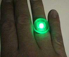 How to make a Green Lantern ring-