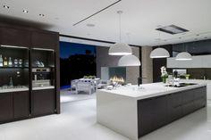 Stylish modern kitchen California house