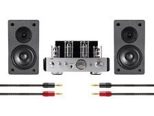 Stereo Tube Amp System with Bluetooth and Speakers