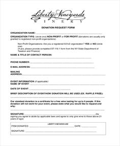 Silent Auction Ideas Donation Benefit Charity Letter Template