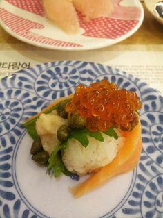 #salmon #sushi #초밥 #연어 #스시 @스시로