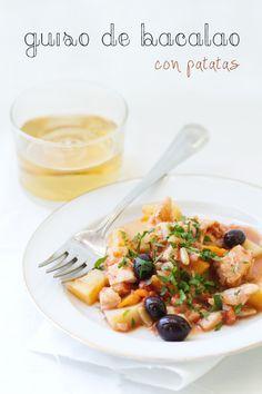 Un guiso de bacalao | Recetas Fáciles de Cocina: A mi lo que me gusta es cocinar
