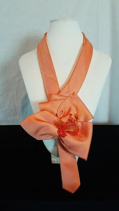 Necklace made using a necktie