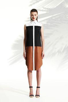 Josh Goot Resort 2014 Fashion Show - Montana Cox