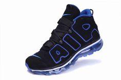 2223df0fb8a Nike Air Max Scottie Pippen Shoes 2012 Black Blue Nike Air Jordan Retro