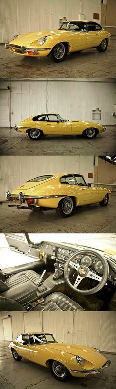 1970 Jaguar E Type Series II 4.2 Coupe