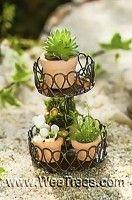 Mini Round Plant Stand
