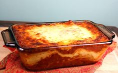 Sometimes a whole lasagna is just too much. Make a smaller portion for a romantic dinner.