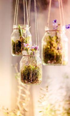 Upcycling: DIY Fensterdeko in spring