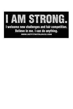 Are you strong?