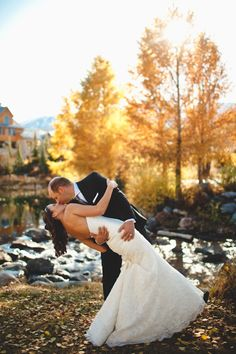 Love this gorgeous elopement wedding in Breckenridge, Colorado. | by Colorado Wedding Photographer Brian Kraft www.BrianKraft.com