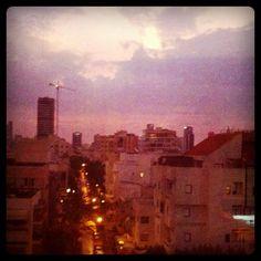 downtown tel aviv at dawn. november 2011.