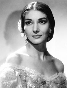Maria Callas (1923 – 1977), was an American soprano of Greek origin, & one of the most renowned & influential opera singers of the 20th century. Critics praised her bel canto technique, wide-ranging voice & dramatic gifts. Her repertoire ranged from classical opera seria to the bel canto operas of Donizetti, Bellini & Rossini & further, to the works of Verdi & Puccini; &, in her early career, to the music dramas of Wagner. Her musical & dramatic talents led to her being hailed as La Divina
