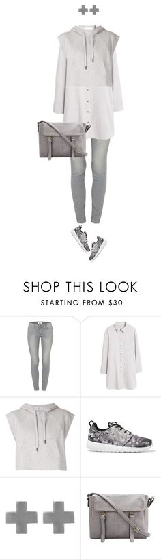 """""""Casual Grey II"""" by lorantin ❤ liked on Polyvore featuring Paige Denim, MANGO, adidas, NIKE and Amberly Cross"""