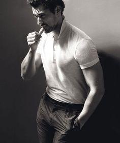 David Gandy Stuns in Black & White for El País Semanal
