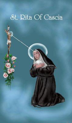 St. Rita pray for us.
