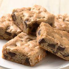 Crazy Blonde Brownies: King Arthur Flour