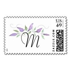 Monogram Purple Flower Spray Postage Stamp We provide you all shopping site and all informations in our go to store link. You will see low prices onShopping          	Monogram Purple Flower Spray Postage Stamp Online Secure Check out Quick and Easy...