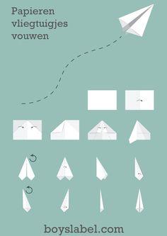 schiphol kinderfeestje, hoe vouw je een papieren vliegtuigje, papieren vliegtuigjes vouwen, paper plane tutorial