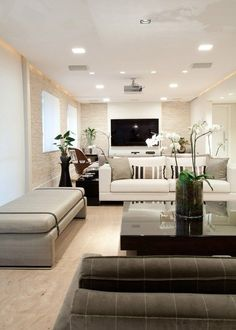 Minimalist Simple Nice Living Room With Beige Color  Interior Enchanting Simple And Nice Living Room Design Decorating Inspiration