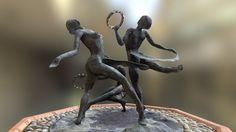The Tambourine Girls by Charlotte Randall by public-art.uk
