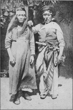 Old Charrua Indians of Uruguay