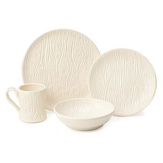 Look what I found at UncommonGoods: porcelain faux bois dishware collection... for $128 #uncommongoods The set I've always wanted!!!