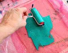 Gelatin Printing / make your own plate