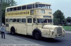 Retro Bus, Double Decker Bus, Bus Coach, Busses, Public Transport, Locomotive, Transportation, The Past, Germany