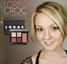 Lorac Croc Eye/Cheek Palette (click through for review and swatches)    #makeup #beauty
