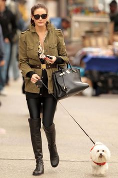 Out and About in New York, April 13, 2010