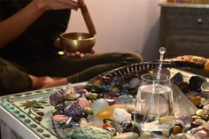 Three steps to creating a sacred space for yoga and meditation. your home is a powerful meditation technique. Enhance your meditation at home with healing stones, sound, incense and other energy tools. Reiki, Meditation Rooms, Yoga Meditation, Kundalini Yoga, Meditation Meaning, Meditation Corner, Meditation Practices, We Will Rock You, Just For You