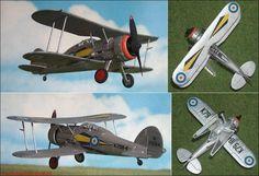 """Gloster """"Gladiator"""" F.Mk.I (Matchbox 8) 1:72"""