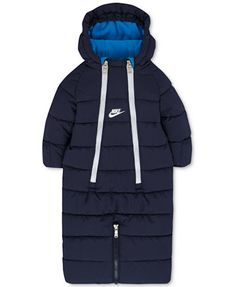 Nike Baby Boys' or Baby Girls' Hooded Convertible Puffer Snowsuit   macys.com