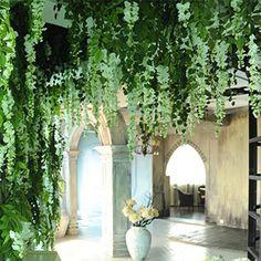 1pcs 90cm Artificial Ivy Leaf Artificial Plants Green Garland Plants Vine Fake Foliage Home And Garden Decoration Wedding Decor