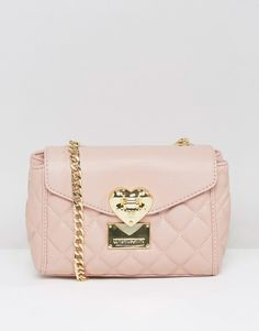 Love Moschino Quilted Small Shoulder Bag - Do we love it? Yes we do. Its just…