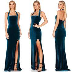 Blue Dresses, Formal Dresses, Fashion, Dresses For Formal, Moda, Formal Gowns, Fashion Styles, Formal Dress, Gowns