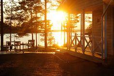 Cottage_Lakeland_Finland Monuments, Finnish Sauna, Lake Cottage, Midnight Sun, Lake Life, Best Cities, Europe, Summer Nights, Countryside