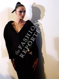 Maria Carla Boscono at Atelier Versace Backstage | Haute Couture FW14-15 | Ph. Antonello Trio