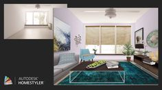 "Check out my #interiordesign ""Modern eclectic"" from #Homestyler http://autode.sk/1nCEavy"