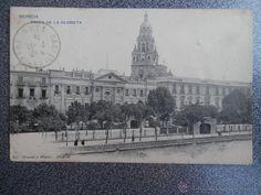 MURCIA PASEO DE LA GLORIETA HAUSER Y MENET POSTAL ANTIGUA (Postales - España - Murcia Antigua (hasta 1.939))