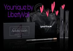 Younique's mission is to uplift, empower, validate, and ultimately build self-esteem in women around the world through high-quality products that encourage both inner and outer beauty. Makeup Younique, Addiction, Palette, Encouragement, Pallets