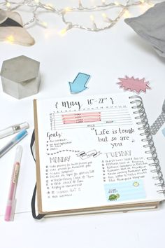 Bullet Journal: 5 Daily Log Layouts