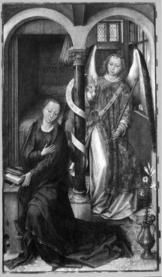 Annonciation   Dijon[FR], Musée des Beaux-Arts de Dijon   Van der Stockt, Vrancke (artiste-pei