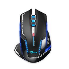 E-3lue E-Blue Mazer II 2500 DPI Blue LED 2.4GHz Wireless Optical Gaming Mouse