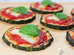 Mini Zucchini pizza Pizzette di Zucchine #pomodoro #ricetta #recipes #tomato #recipe #italianrecipe